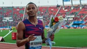 Athletics: De Grasse wins 200m to book Diamond League finals spot