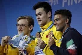 Swimming: China's Sun, American Ledecky light up world championships