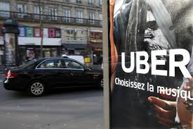 Uber ties up with AXA for workers' accident cover in France