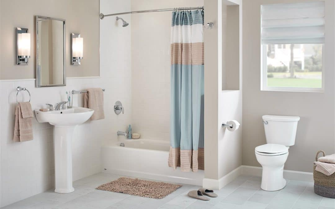 5 ways to create big luxury in a small master bathroom