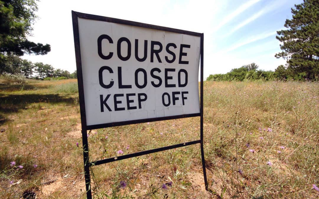 Recent golf course closures leave more than residents in a bind