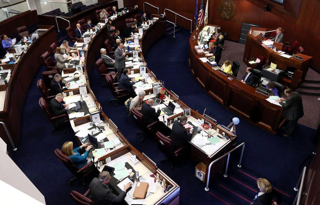 Fires shut down Nevada Legislature website