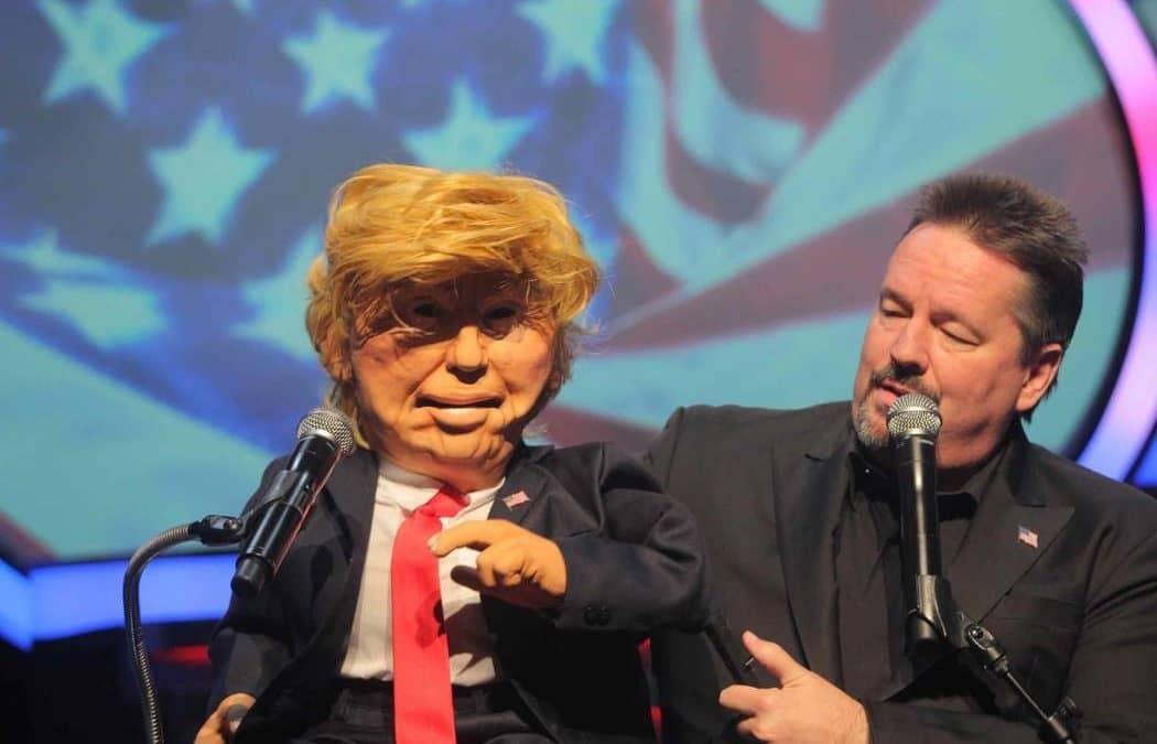 Terry Fator creates non-political Donald Trump, Elton John puppets for show