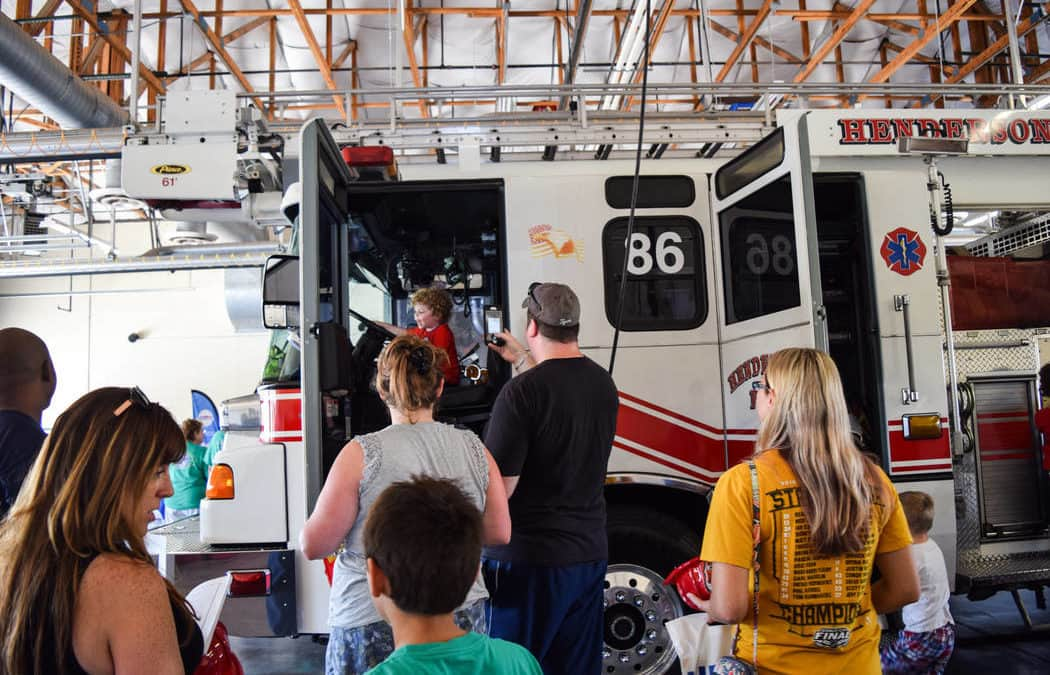 Henderson Fire Department uses open house events to push safety