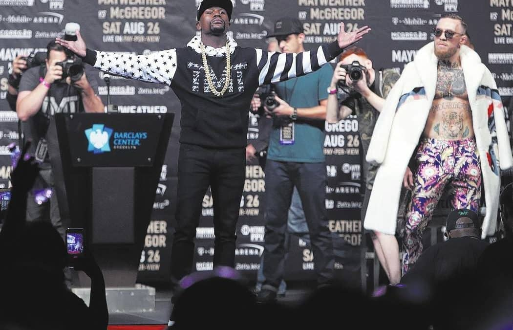 Mayweather-McGregor bout will be a ridiculous circus