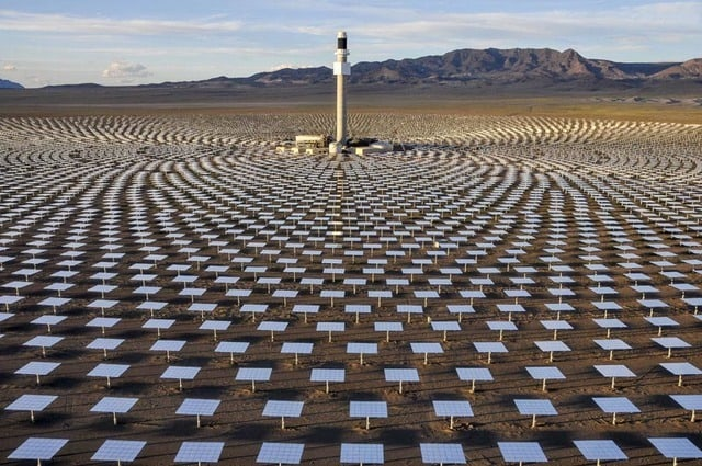 Nevada solar plant back online after eight-month outage