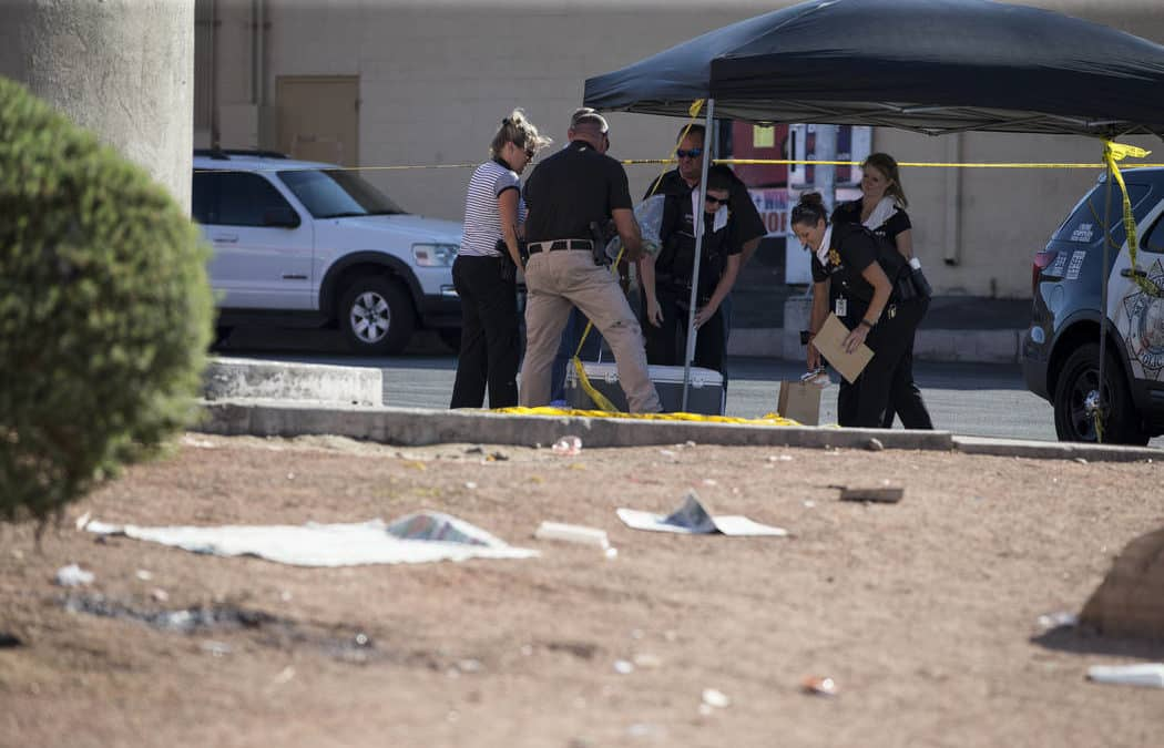 Suspect in custody after homeless man stabbed to death near UNLV