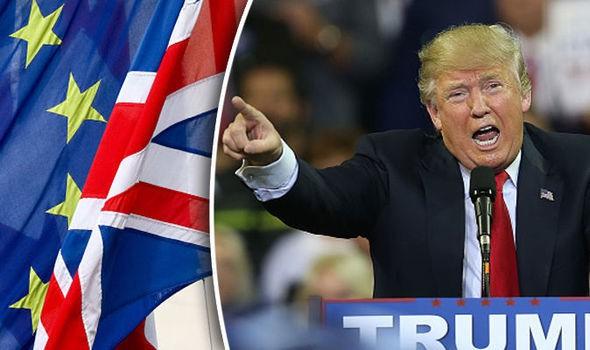US-UK PREPARE FOR $50 BILLION POST-BREXIT TRADE DEAL