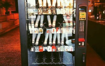 Snack on some culture with a vending machine that sells art