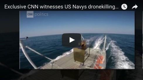 CNN witnesses US Navys dronekilling laser