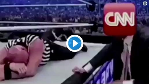 WATCH: TRUMP BODYSLAMS CNN IN EPIC MEME FASHION