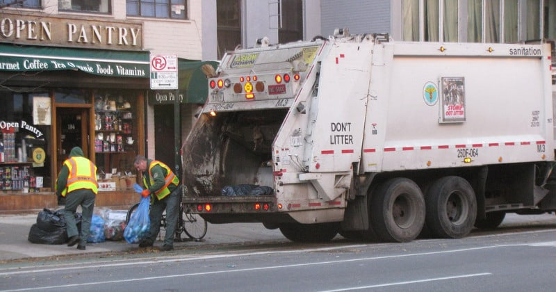 GARBAGE MEN BEING TRAINED TO SPY ON CUSTOMERS
