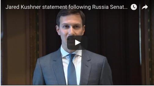 Jared Kushner statement following Russia Senate hearing