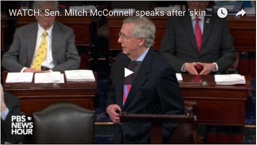 Sen. Mitch Mcconnell Speaks After 'skinny' Aca Repeal Vote Fails