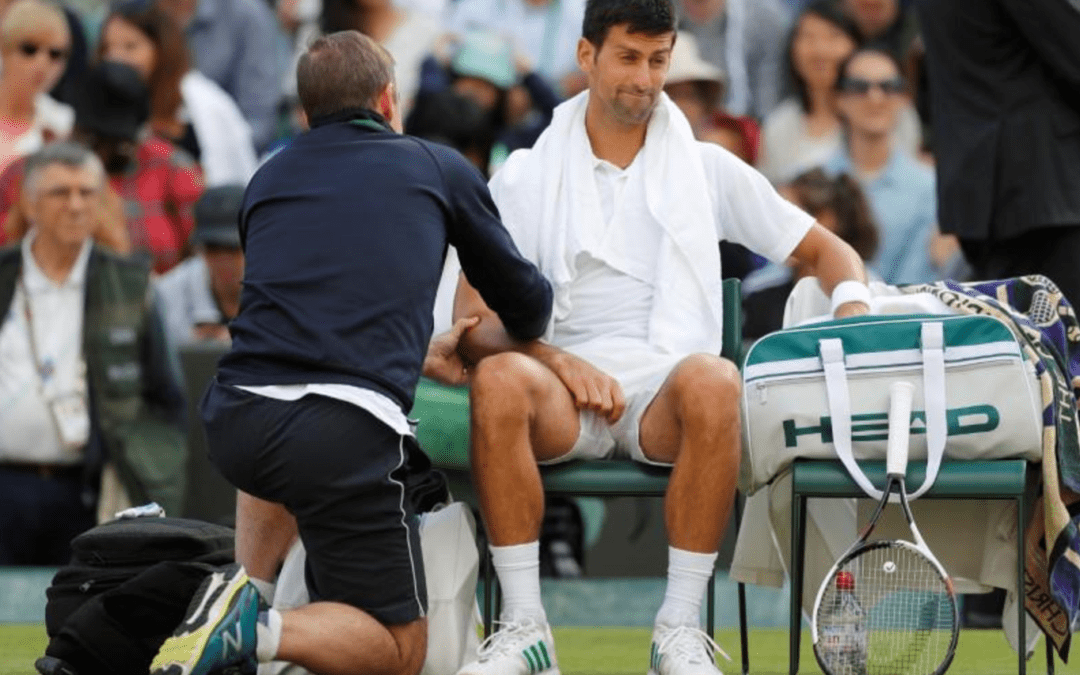 Djokovic out of Wimbledon after retiring hurt against Berdych