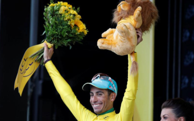 Bold Bardet wins stage as Froome surrenders yellow to Aru