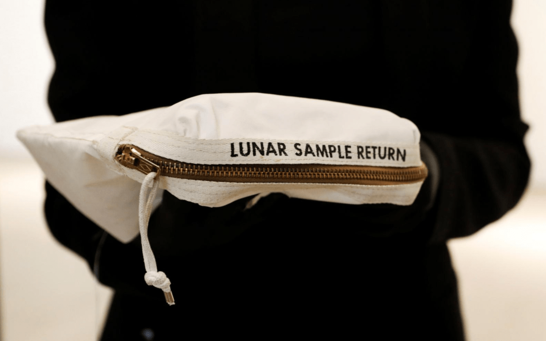 Neil Armstrong's moon bag to fetch up to $4 million at auction