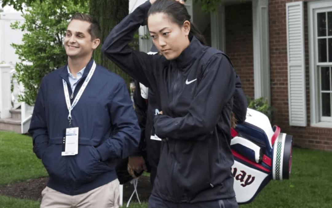 Wie withdraws in soggy start at U.S. Women's Open