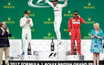 Four in a row for Hamilton as blowout hits Vettel
