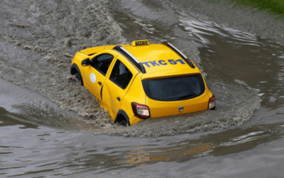 People swim in streets of flooded Istanbul, heavy rain briefly shuts Bosphorus oil routes