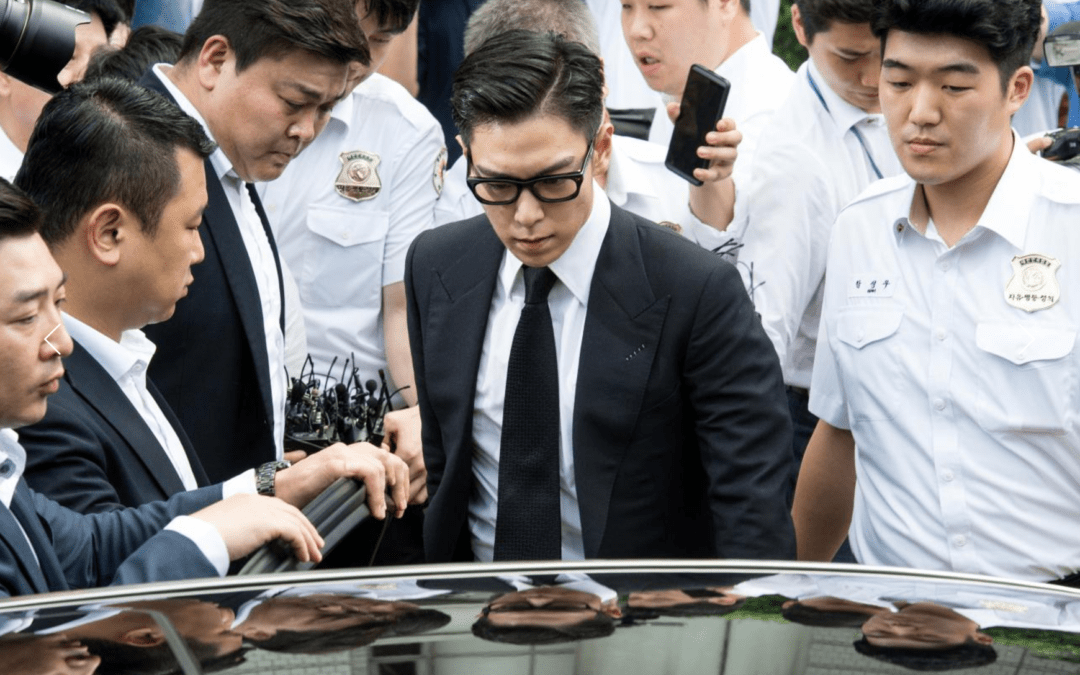 South Korea gives pop idol T.O.P. suspended jail term for smoking weed