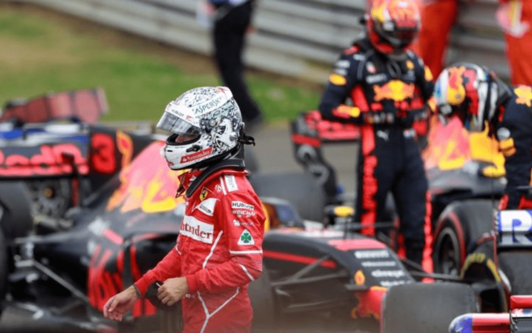 Motor racing: Slow puncture caused Vettel's Silverstone blowout