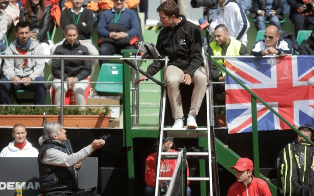 Nastase given three-year ITF ban after Fed Cup meltdown