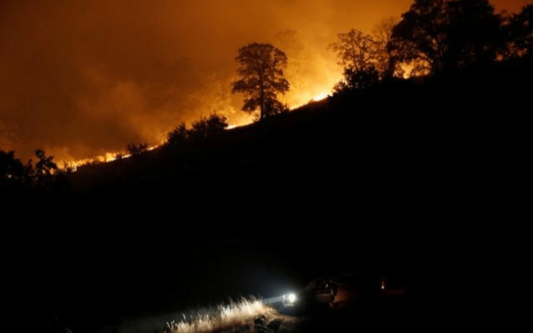 Evacuation order may be lifted Friday as California wildfire slows
