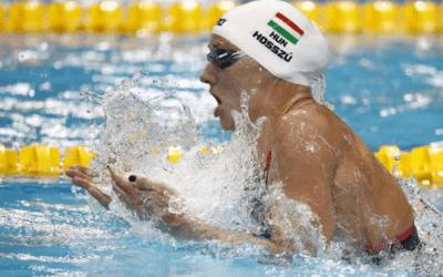 Swimming – 'Iron Lady' Hosszu thrills home crowd by striking gold