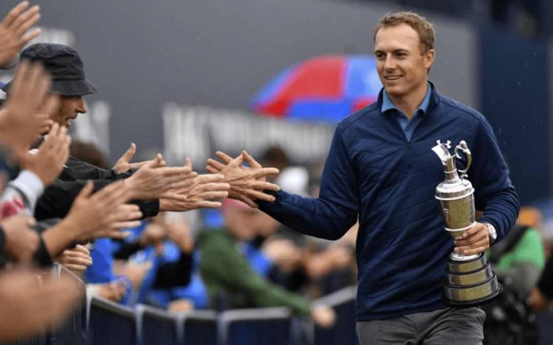 Golf's greats salute Spieth's British Open triumph