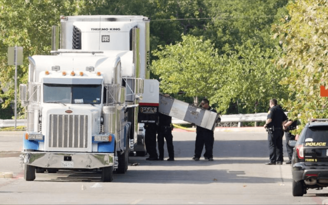 U.S. charges driver after dead discovered in stifling truck in Texas
