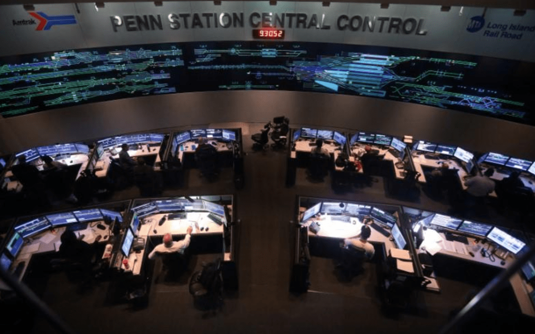 In secret control center, N.Y.'s Penn Station moves fewer trains as repairs proceed