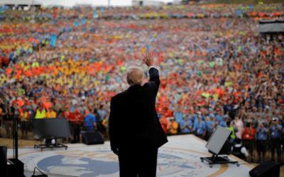 Trump Rocks the Boy Scout Jamboree