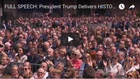 FULL SPEECH: President Trump Delivers HISTORIC Speech to People of Poland