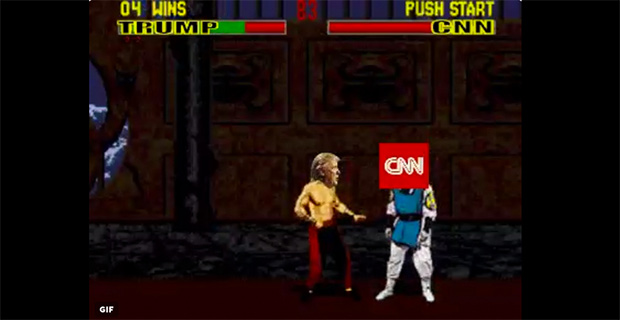 It Has Begun! The Best Trump V. CNN Memes