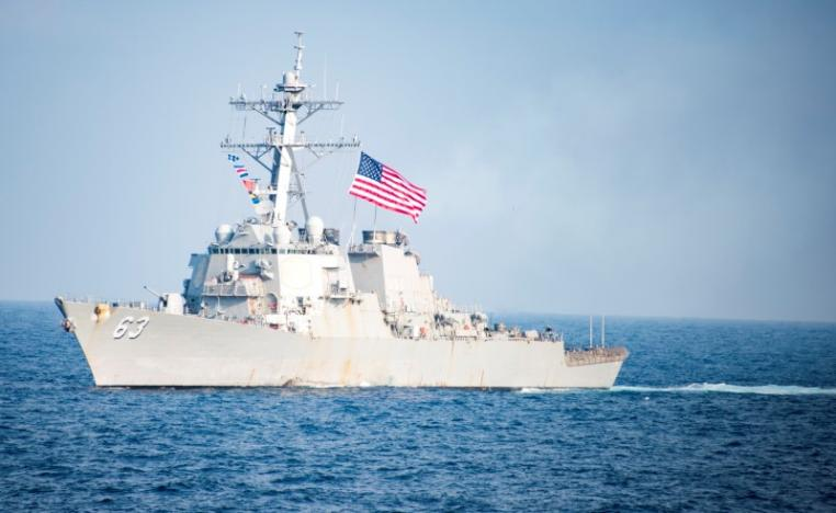 U.S. Navy ship fires warning shots near Iranian vessel: official