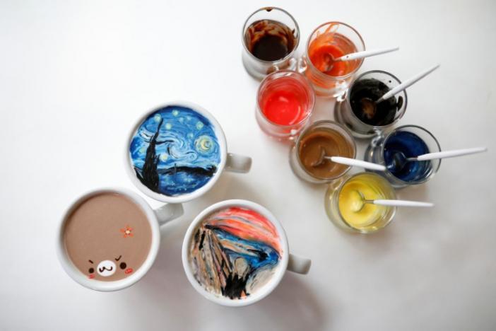 The Scream on cream: Korean barista wows fans with latte art