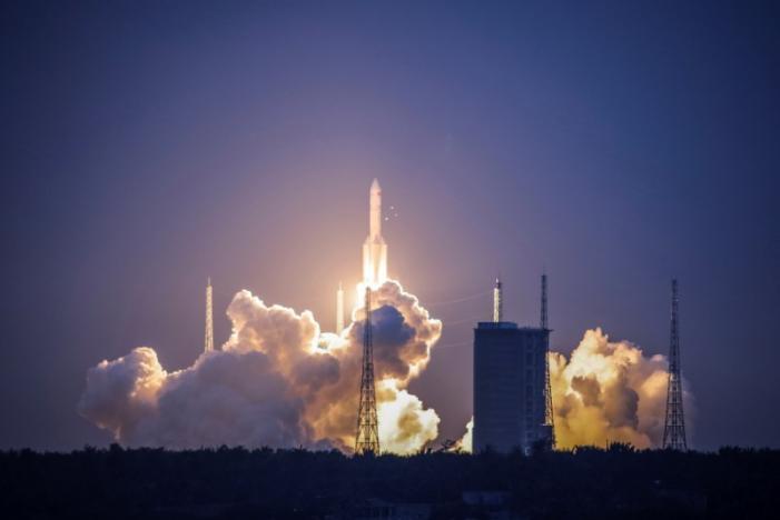 China's new heavy-lift rocket launch fails in flight