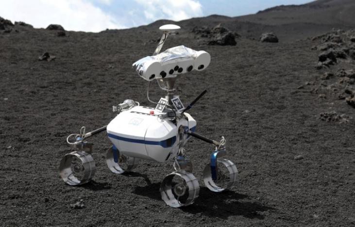 Lunar robots put to the test on Sicily's Mount Etna