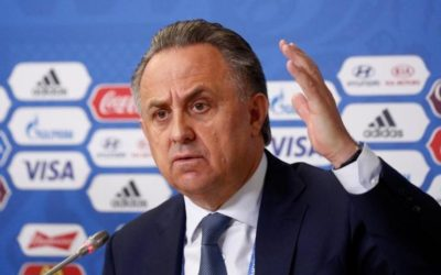 Russian minister angrily denies doping allegations