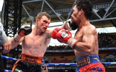Boxing: Horn stuns Pacquiao to win WBO welterweight world title