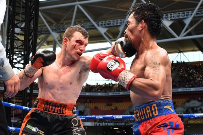 Boxing: Horn stuns Pacquiao to win WBO welterweight world title