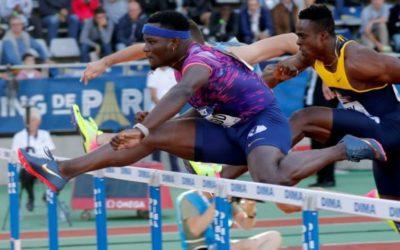 Athletics: McLeod beaten on night of upsets in Paris