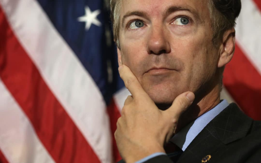 Sen. Rand Paul: Senate GOP Decides to Keep Obamacare