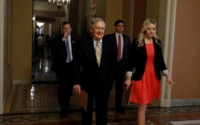 Republican Senate leader to hold healthcare vote within hours