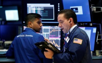 Nasdaq, tech shine as earnings pick up; Dow, S&P lag