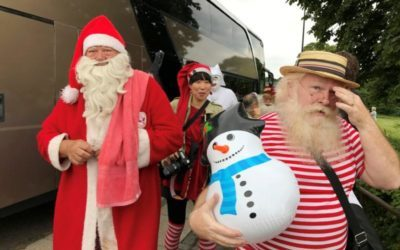 No ho-ho-ho-liday as Santas meet in Denmark
