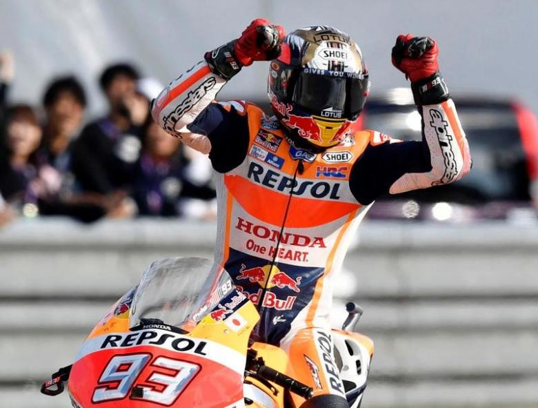 Eighth win in a row for Marquez at Sachsenring