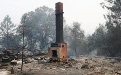 Massive wildfire destroys 29 structures in California