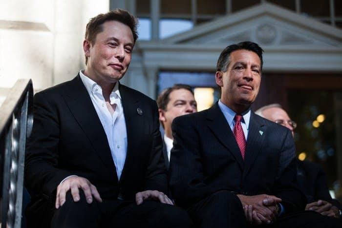 Sandoval, Musk discuss technological innovation